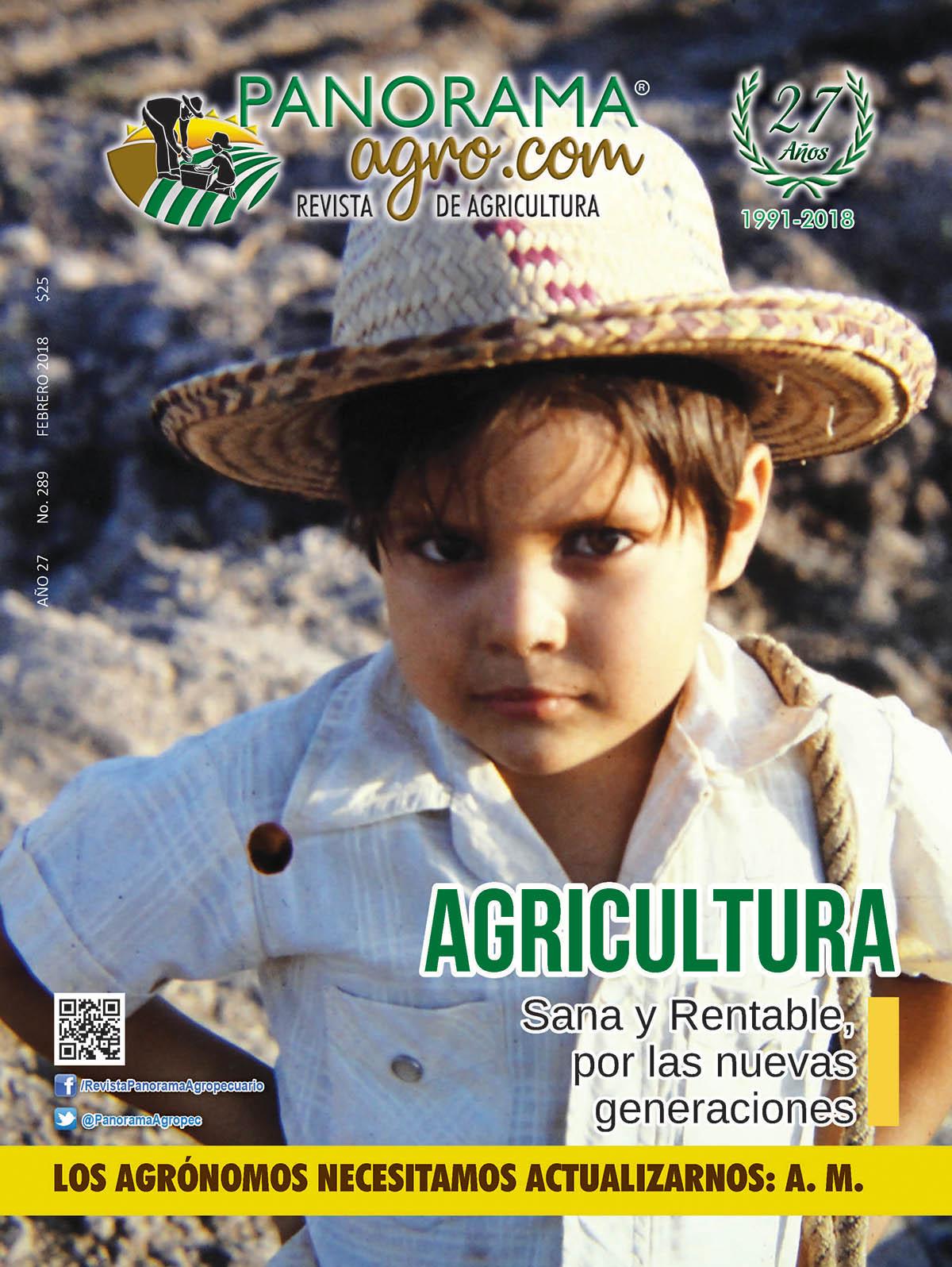 Portada Revista Panorama Agropecuario / Febrero 2018