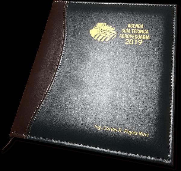 Agenda 2019 - Funda en Curpiel, personalizada